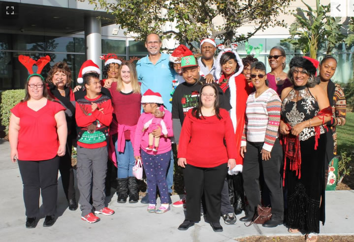 Groups give toys to children in Pediatrics Ward at Kaiser Permanente Fontana Medical Center